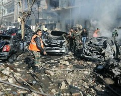 Suicide car bombs killed dozens of people on May 10.