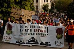 The march in Granada last Saturday [Photo: Alejandro Garcia Montoro]