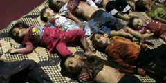 Syrian children killed in Houla massacre