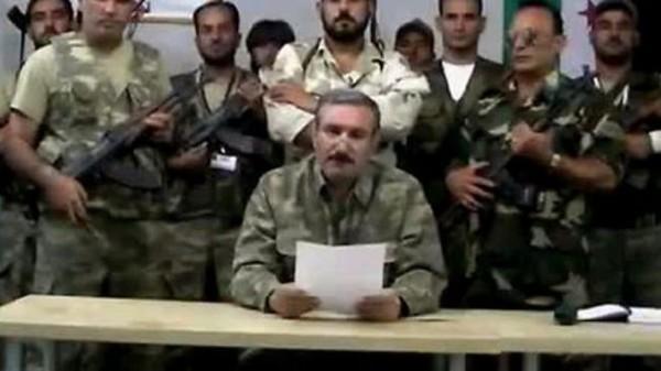 Terrorist leader Riad al-Assad
