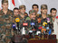 Syrian rebel officials announce their defection