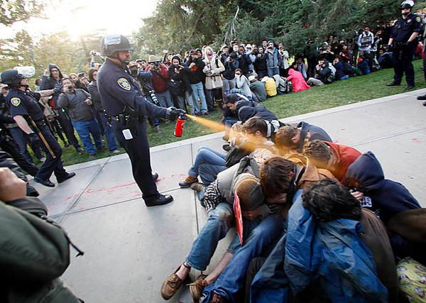 Occupy Wall Street pepper spray