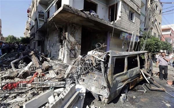 Syria terrorist bomb Damascus