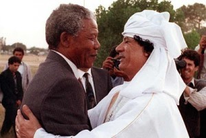Gaddafi was very helpful in the fight against Apartheid in South Africa