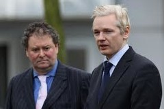 Mark Stephens (left) was Julian Assange's Lawyer for about 8 months
