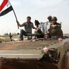 The Syrian Army is fighting Al Qaeda