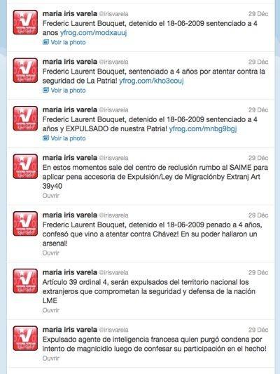 Tweets Maria Iris Varela