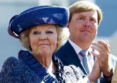 Beatrix and Willem-Alexander