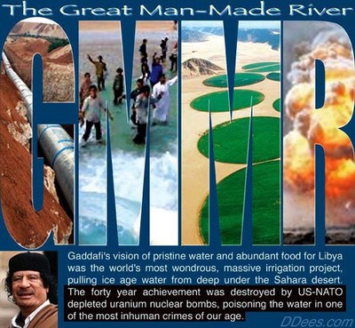 Gaddafi Great Man-Made River Project