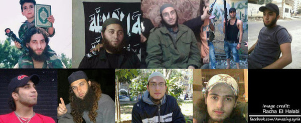 Siria yihadistas Líbano