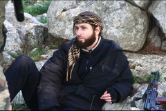 Belga Ayachi Abdel Rahman, comandante de la Suquar al-Sham brigada