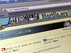 Website of Dutch pedophile association Martijn