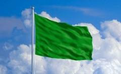Libya green flag